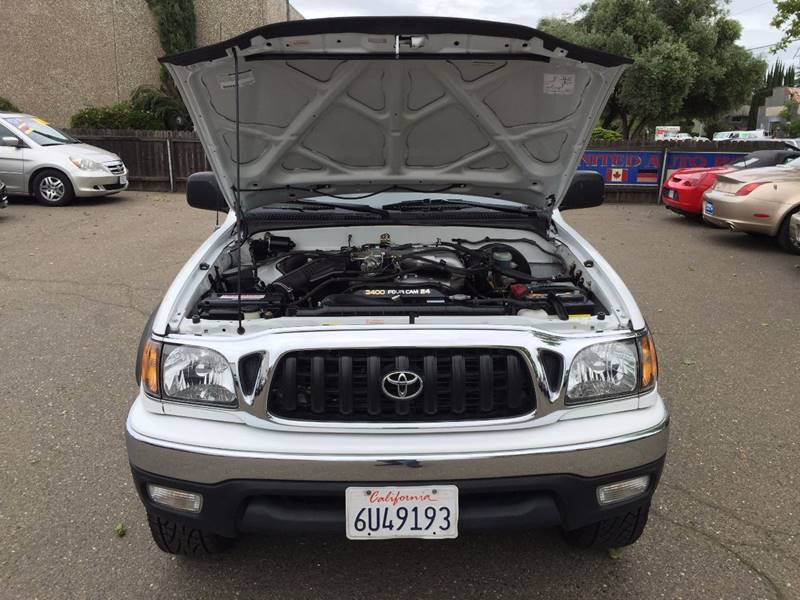 2002 Toyota Tacoma 4dr Double Cab PreRunner V6 2WD SB - Citrus Heights CA