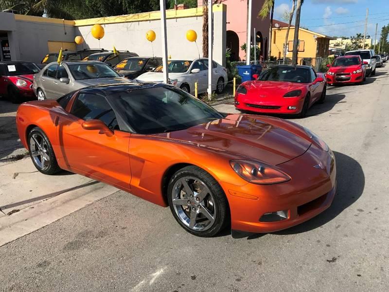 2008 Chevrolet Corvette 2dr Coupe - Miami FL