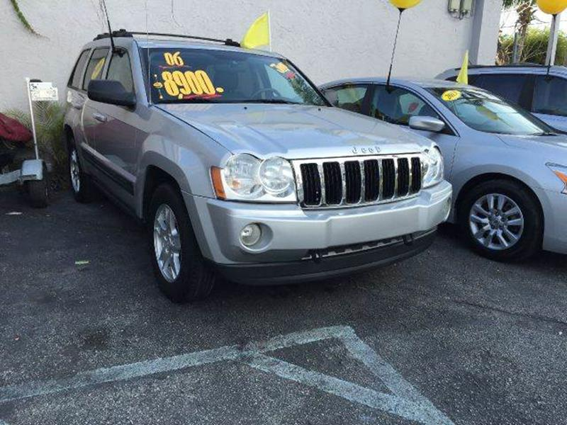 2006 Jeep Grand Cherokee Laredo Limited 4WD In Miami FL  Global