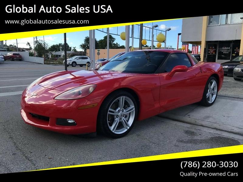 Chevrolet Corvette Dr Coupe W Lt In Miami Fl Global Auto Sales Usa