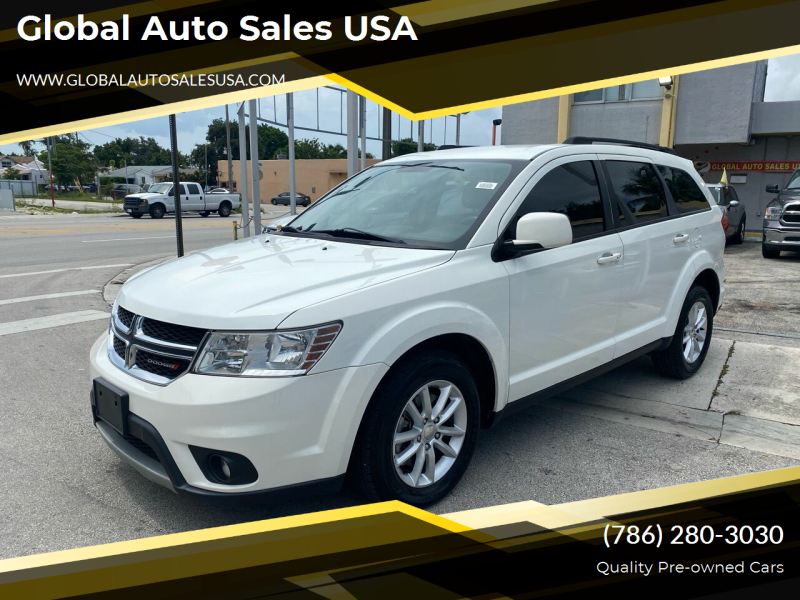 2015 Dodge Journey for sale at Global Auto Sales USA in Miami FL