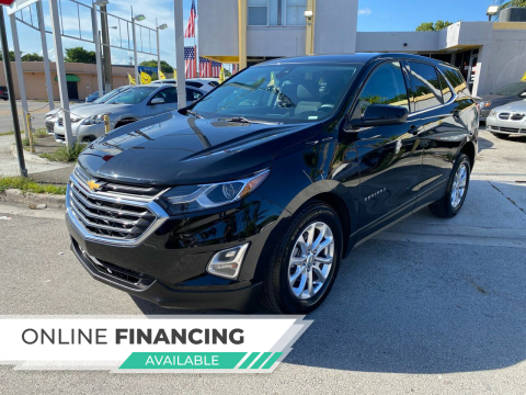 2020 Chevrolet Equinox for sale at Global Auto Sales USA in Miami FL