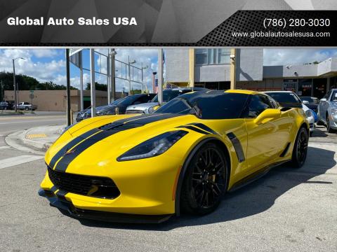 2019 Chevrolet Corvette for sale at Global Auto Sales USA in Miami FL