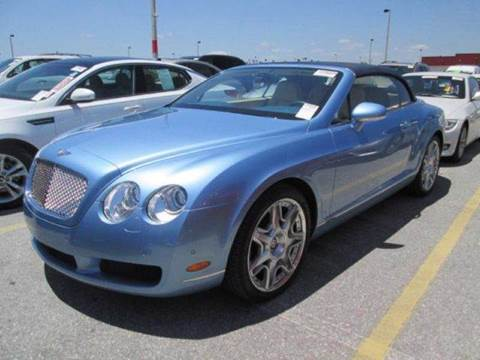2009 Bentley Continental GTC for sale at Global Auto Sales USA in Miami FL