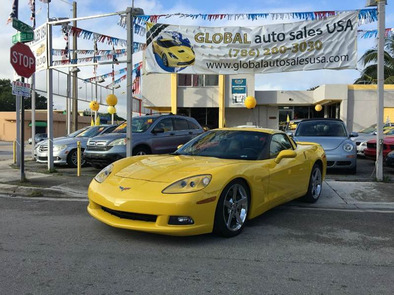 2008 Chevrolet Corvette for sale at Global Auto Sales USA in Miami FL