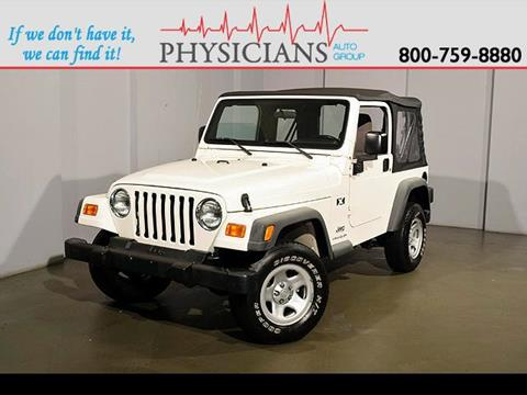 2003 Jeep Wrangler for sale at Physicians Auto Group in Columbus OH