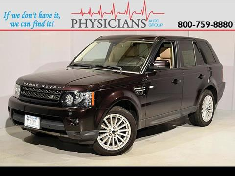 2012 Land Rover Range Rover Sport for sale at Physicians Auto Group in Columbus OH