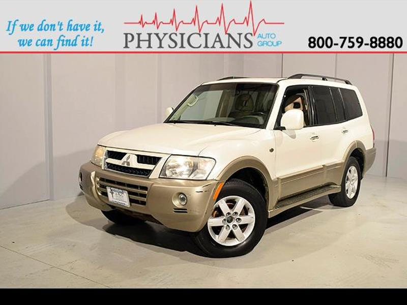 2006 Mitsubishi Montero for sale at Physicians Auto Group in Columbus OH