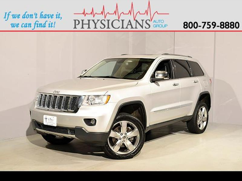 2012 Jeep Grand Cherokee for sale at Physicians Auto Group in Columbus OH