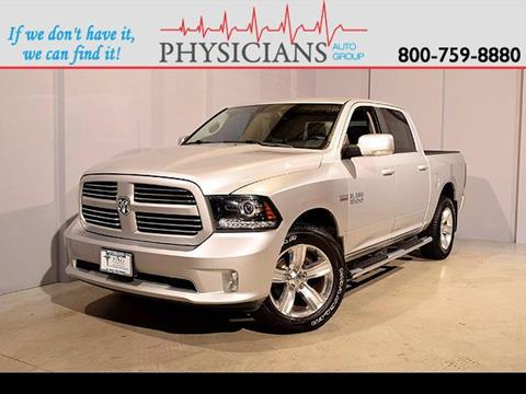 2013 RAM Ram Pickup 1500 for sale at Physicians Auto Group in Columbus OH