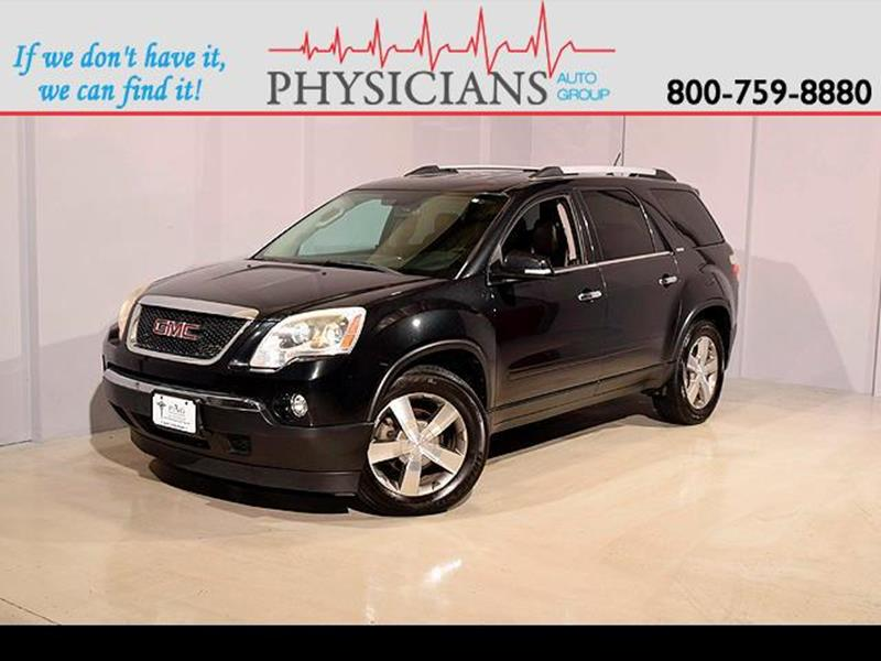 2010 GMC Acadia for sale at Physicians Auto Group in Columbus OH