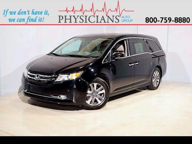 2014 Honda Odyssey for sale at Physicians Auto Group in Columbus OH