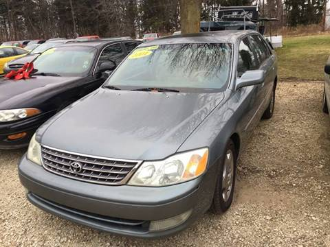 2004 Toyota Avalon for sale at Hillside Motor Sales in Coldwater MI