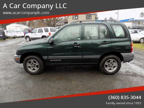 2004 Chevrolet Tracker for sale at A Car Company LLC in Washougal WA