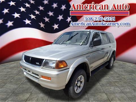 1997 Mitsubishi Montero Sport for sale in Kearney, NE