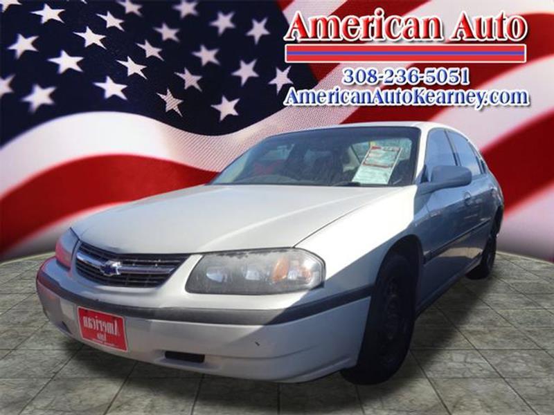 2003 Chevrolet Impala 4dr Sedan - Kearney NE
