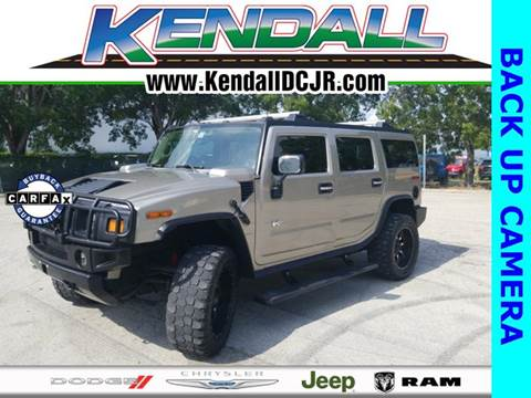 2003 HUMMER H2 for sale in Miami, FL