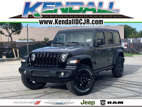 2020 Jeep Wrangler Unlimited for sale in Miami, FL