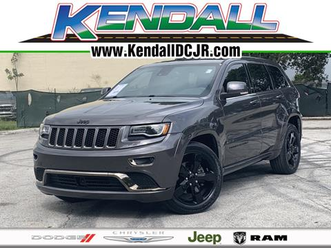 2015 Jeep Grand Cherokee for sale in Miami, FL