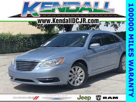 2014 Chrysler 200 for sale in Miami, FL