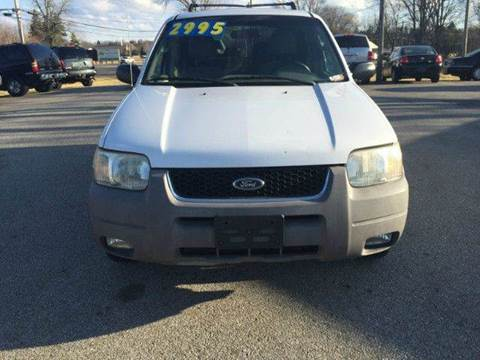 2002 Ford Escape for sale in Shelby, OH