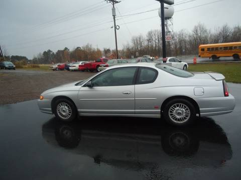 2001 Chevrolet Monte Carlo for sale at Xtreme Auto Inc. in Hermantown MN