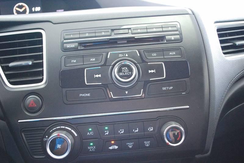 2015 Honda Civic LX 4dr Sedan CVT - Rome GA