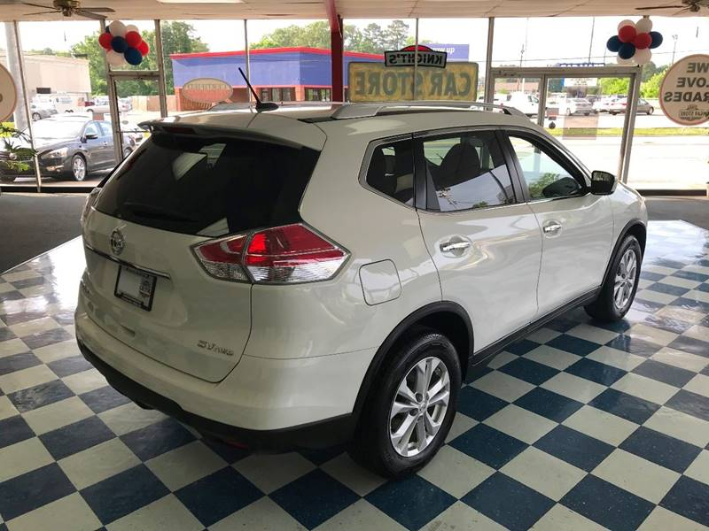 2015 nissan rogue awd sv 4dr crossover in rome ga knight s car store rh thecarstorerome com