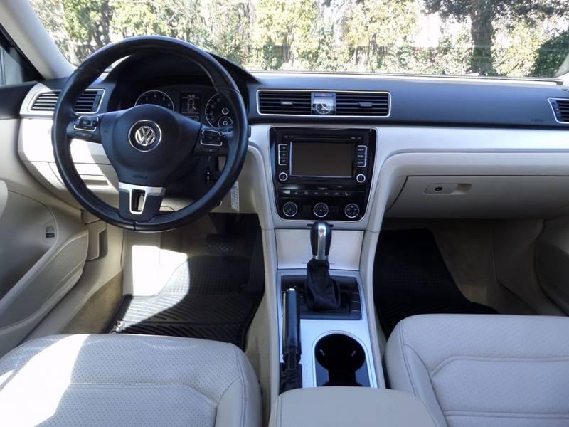 2013 Volkswagen Passat SE PZEV 4dr Sedan 6A In Corvallis OR