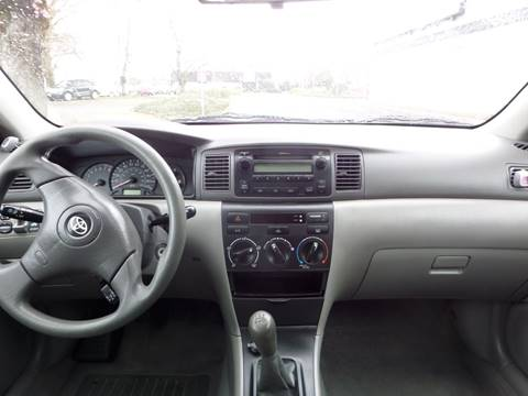 2006 toyota corolla radio manual