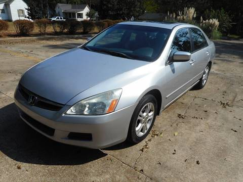 2006 Honda Accord for sale in West Point, MS