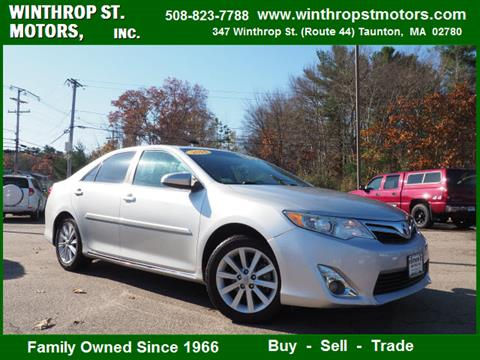 2014 Toyota Camry for sale in Taunton, MA