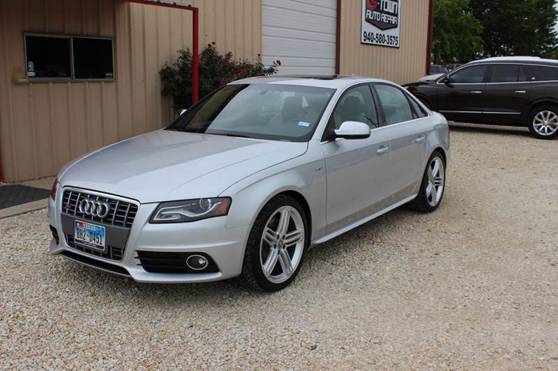 2010 Audi S4 for sale at Gtownautos.com in Gainesville TX