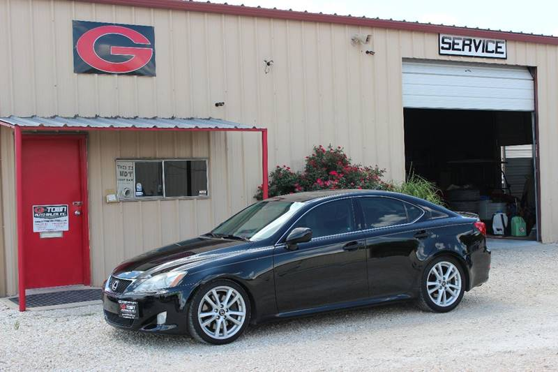2008 Lexus IS 350 for sale at Gtownautos.com in Gainesville TX