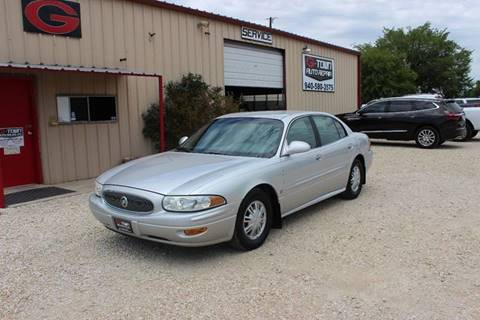 2002 Buick LeSabre for sale at Gtownautos.com in Gainesville TX