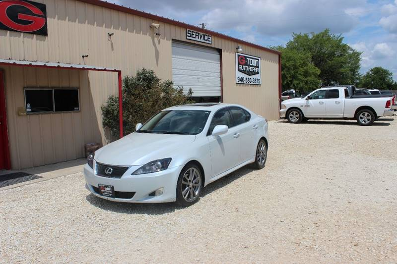 2008 Lexus IS 250 for sale at Gtownautos.com in Gainesville TX