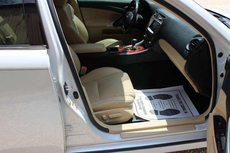 2008 Lexus IS 250 4dr Sedan 6A - Gainesville TX
