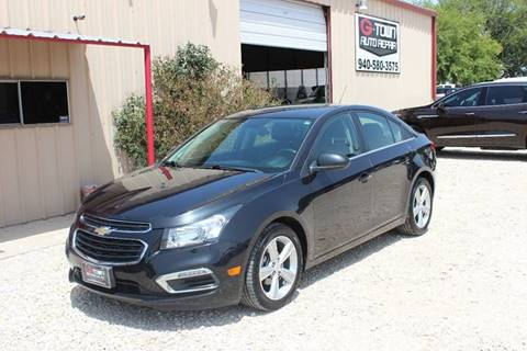 2015 Chevrolet Cruze for sale at Gtownautos.com in Gainesville TX