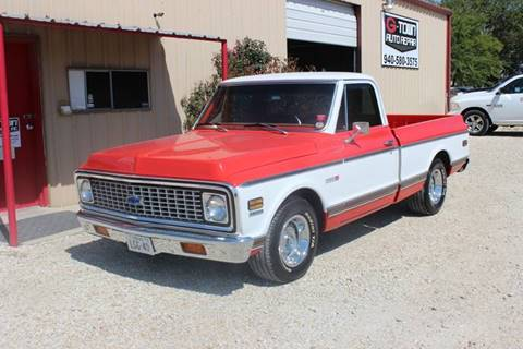 1971 Chevrolet C/K 10 Series for sale at Gtownautos.com in Gainesville TX