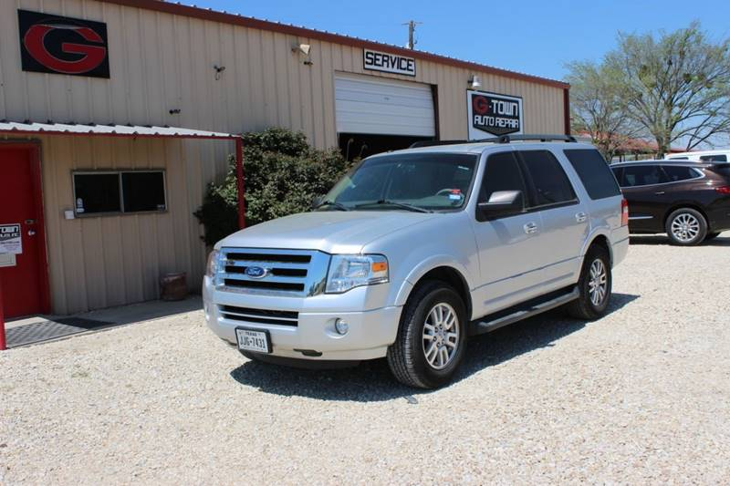 2012 Ford Expedition 4x2 XLT 4dr SUV In Gainesville TX - Gtownautos com