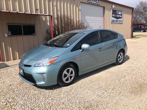 2014 Toyota Prius Four for sale at Gtownautos.com in Gainesville TX