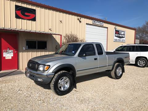 2001 Toyota Tacoma Prerunner for sale at Gtownautos.com in Gainesville TX