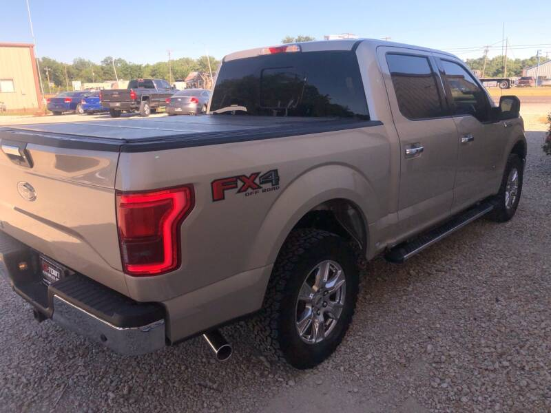 2017 Ford F-150 4x4 XLT 4dr SuperCrew 5.5 ft. SB - Gainesville TX