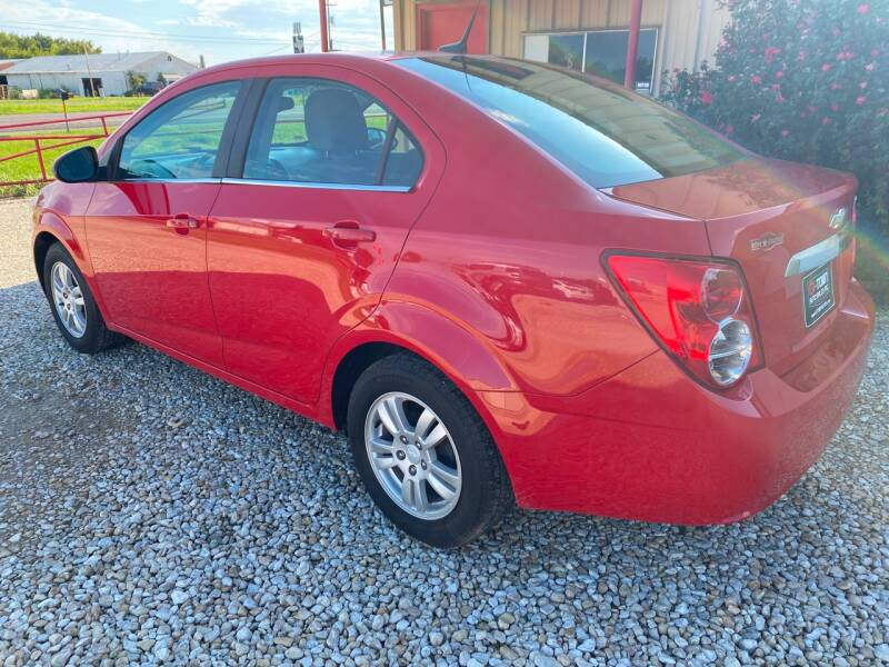 2013 Chevrolet Sonic LT Manual 4dr Sedan - Gainesville TX