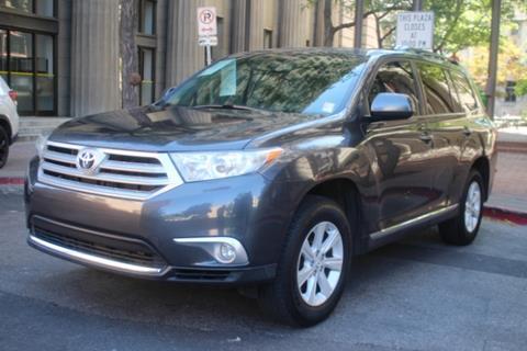 2013 Toyota Highlander For Sale >> 2013 Toyota Highlander For Sale In West Valley City Ut