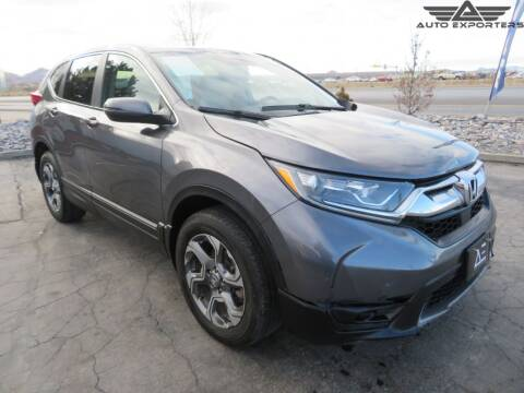 2019 Honda CR-V EX-L for sale at Autoexporters Inc in West Valley City UT