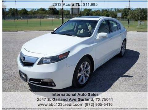 2012 Acura TL for sale in Garland, TX