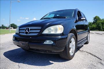 2005 Mercedes-Benz M-Class for sale in Garland, TX