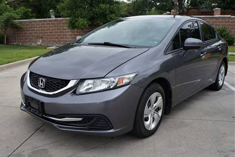 2014 Honda Civic for sale in Garland, TX