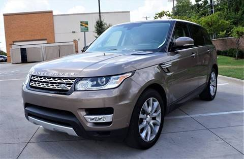 2015 Land Rover Range Rover Sport for sale in Garland, TX